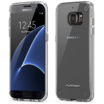 SAMSUNG GALAXY S7 EDGE PUREGEAR SLIM SHELL CASE - CLEAR AND CLEAR