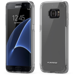 SAMSUNG GALAXY S7 EDGE PUREGEAR SLIM SHELL PRO CASE - CLEAR AND CLEAR