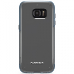 SAMSUNG GALAXY S7 EDGE PUREGEAR SLIM SHELL PRO SERIES CASE - CLEAR/BLUE