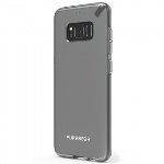 SAMSUNG GALAXY S8+ PUREGEAR SLIM SHELL CASE - CLEAR/CLEAR
