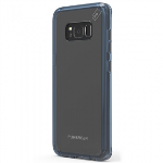 SAMSUNG GALAXY S8 PUREGEAR SLIM SHELL PRO CASE - CLEAR/BLUE