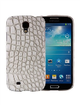 Xentris Wireless Hard Shell Case for Samsung Galaxy S4 (White Reptile)