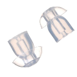 OEM Motorola 67009254001 Replacement Rubber Eartip for RLN6424 (10/Pack) - Clear