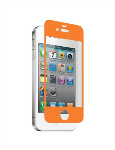 Nitro Glass Screen Protector for Apple iPhone 4/4S - Orange