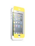 Nitro Glass Screen Protector for Apple iPhone 5/5S/5C - Soft Yellow