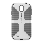 Speck CandyShell Grip Case for Samsung Galaxy S4 - White/Black