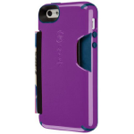 Speck CandyShell Wallet Case for Apple iPhone 5/5S - Revolution Purple/Deep Blue Sea