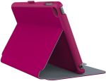 Speck StyleFolio Case and Stand for iPad mini 4 - Fuchsia / Nickel Grey