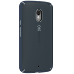Speck Products Mighty Shell Cell Phone Case for Motorola Droid - Charcoal/Nickel Grey