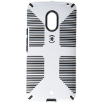 Speck CandyShell Grip Case for Motorola Droid Maxx 2 - White/Black