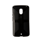 Speck CandyShell Grip Case for Motorola Droid Maxx 2 - Black/Slate Grey