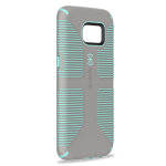 Speck CandyShell Grip Case for Samsung Galaxy S7 Edge (Sand Grey/Aloe Green)