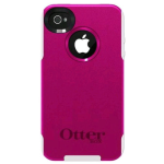 OtterBox Commuter Case for Apple iPhone 4/4s - Pink/White