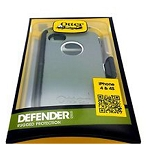 OtterBox Defender Case for Apple iPhone 4S / 4 (White/Gray)