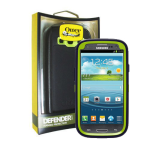 OtterBox Defender Case for Samsung Galaxy S3 (Glow Green/Lake Blue - Atomic)