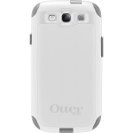 OtterBox Commuter Case for Samsung Galaxy S3 - White (Gunmetal Gray/Glacier White)