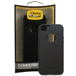 OtterBox - Commuter Case for Apple iPhone 5 - Black/Black