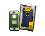 OtterBox Defender Case for Apple iPhone 5 - Punk (Lime Green / Dark Blue)