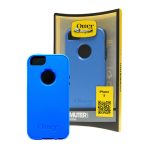 OtterBox - Commuter Case for Apple iPhone 5 - Night Sky Ocean Blue/Night Blue