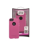 OtterBox Commuter Case for Apple iPhone 5/5s/SE (Pink/White)