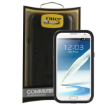 OtterBox - Commuter Case for Samsung Galaxy Note 2 - Black