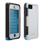 OtterBox Armor Waterproof Case for Apple iPhone 5 - Arctic (White/Grey/Blue)