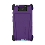OtterBox Defender Case for Motorola Droid Maxx - Purple/Aqua