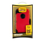OtterBox Defender Case for Apple iPhone 5/5S/5E - Raspberry