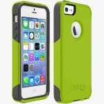 OtterBox Commuter Case for Apple iPhone 5/5s/SE - Key Lime (GLOW GREEN/SLATE GREY)