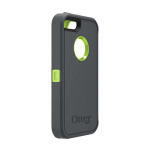 OtterBox Defender Ruggered Combo Case with Holster for Apple iPhone 5/5S - Key Lime (Glow Green/Slate Grey)