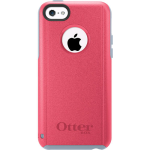OtterBox Commuter Case for Apple iPhone 5c - Fruit Punch (Powder Grey/Candy Pink)