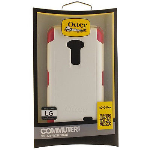 Otterbox Commuter Case for LG G Flex - White/Peony Pink (Papaya)