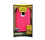 OtterBox - Defender Case With Belt Clip holster and built in ScreenProtector for Samsung Galaxy S5 - Neon Rose