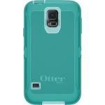 OtterBox Defender Case for Samsung Galaxy S5 - Aqua Blue (Blue/Light Teal)
