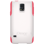 OtterBox Commuter Case for Samsung Galaxy S5 - Neon Rose (White/Pink)