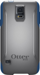 OtterBox Commuter Case for Samsung Galaxy S5 - BluePrint (Slate Grey/Deep Water)