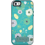 OtterBox Symmetry Case for Apple iPhone 5/5S - Eden Teal (AQUA TEAL/LIGHT TEAL/EDEN GRAPHIC)