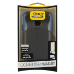 Otterbox Commuter Wallet Case for Samsung Galaxy S5 - Blueprint - Gray/Blue