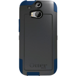 OtterBox Commuter Case for HTC One M8 - Blue Print