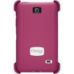 OtterBox Defender Case for Samsung Galaxy Tab 4 7.0 - Papaya  (White/Peony Pink)