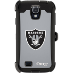 OtterBox Defender Case for Samsung Galaxy S4 - NFL Raiders (Black, Oakland Raiders NFL Logo)