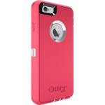 OtterBox Defender Case for Apple iPhone 6/6s - Neon Rose (Whisper White/Blaze Pink)