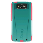 OtterBox Commuter Case for Motorola Droid Turbo - Teal Rose