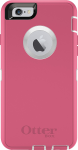 OtterBox Defender Case for iPhone 6 Plus - Neon Rose (Whisper White/Blaze Pink)