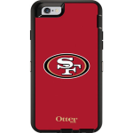 OtterBox Defender Case for Apple iPhone 6/6s - NFL San Francisco 49ers