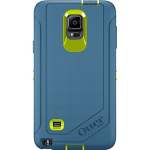 OtterBox Defender Case for Samsung Galaxy Note 4 - Electric Indigo (Citron / Deep Water)