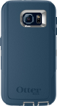OtterBox Defender Case for Samsung Galaxy S6 - Casual Blue (Sleet Grey/Dark Deep Water Blue)