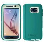 OtterBox Defender Case for Samsung Galaxy S6 - Cool Melon (Sage Green/Light Teal Blue)