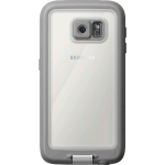 LifeProof Fre WaterProof Case for Samsung Galaxy S6 - Avalanche (White/Gray)