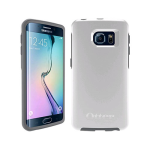 OtterBox - Symmetry Case for Samsung Galaxy S6 edge  (White/Gray Glacier)